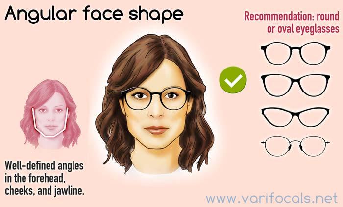 5e3830b8fdf Glasses frames for woman - Face shape Guide
