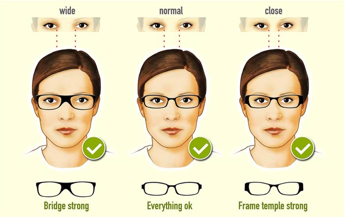 edeac8bd04 Glasses frames for an oval face shape (female)