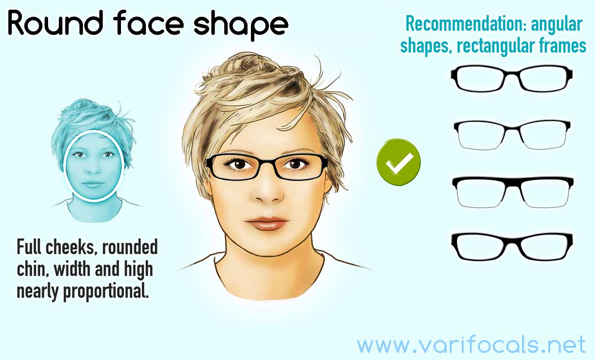 Glasses Frames For A Round Face Shape Female